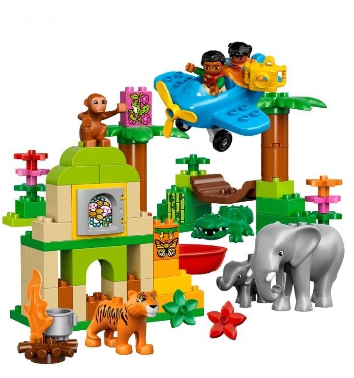 LEGO DUPLO Džungle 10804 - Kliknutím zobrazíte detail obrázku.