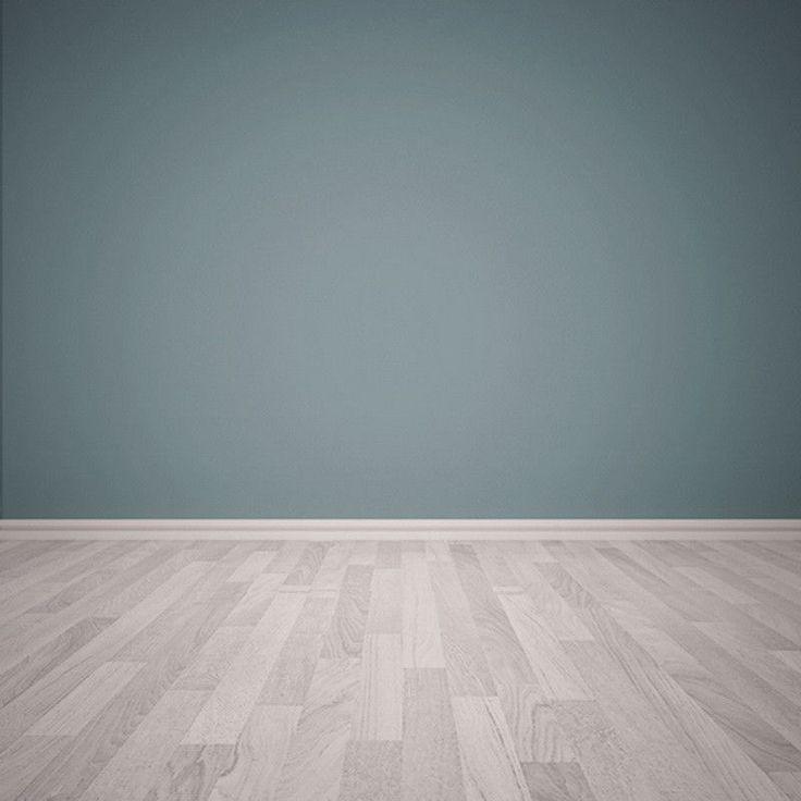 1187 Blue Wall Wood Floor Vintage, Grey Laminate Flooring With Blue Walls