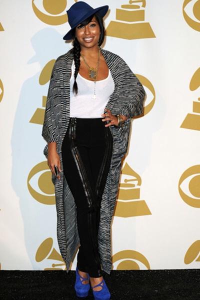Grace Potter, Melanie Fiona at Grammy Nominations Concert