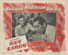 1948 'Key Largo' Original Signed Lobby Card #vintageposters #vintageseekers