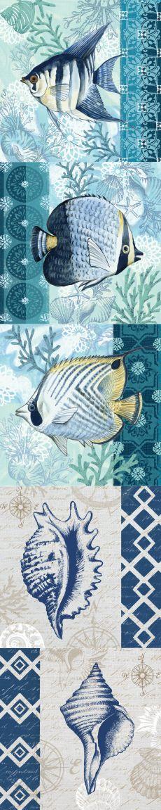 Мир моря в иллюстрациях Елены Владыкиной