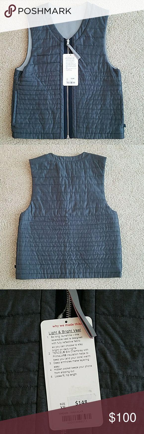 Lululemon Vest Lululemon light and bright Vest lululemon athletica Jackets & Coats Vests