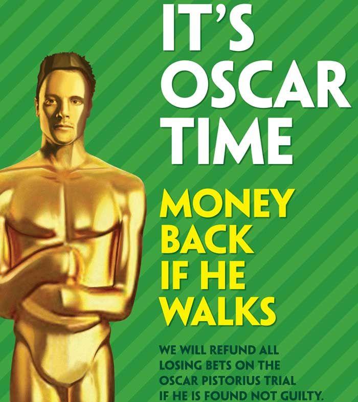 Британските власти забраниха рекламата на Paddy Power за залога за делото на Оскар Писториус