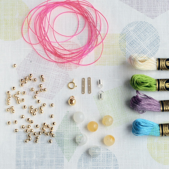 DIY kit in Gold  from   www.bkids.bigcartel.com: Diy Clothes Accessories, Accessories Diy, Diy Necklace, Diy Jewelry, Holidays Christmas Diy Gifts, Diy Kit