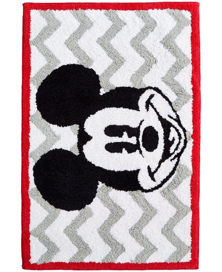 Mickey Chevron Rug - Bath Rugs & Bath Mats - Bed & Bath - Macy's