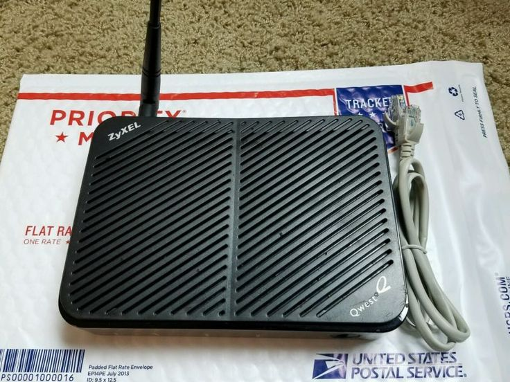 Zyxel Qwest Centurylink (PK5000Z) DSL Modem/Router Only, TESTED *FAST SHIPPING!* - http://electronics.goshoppins.com/home-networking-connectivity/zyxel-qwest-centurylink-pk5000z-dsl-modemrouter-only-tested-fast-shipping/