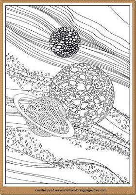 Astronomy Coloring Pages For Adults Printable With This You