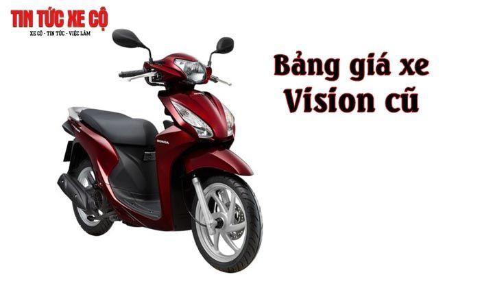 Gia Xe Vision Cũ Hiện Nay Honda Xe Cộ Xe May