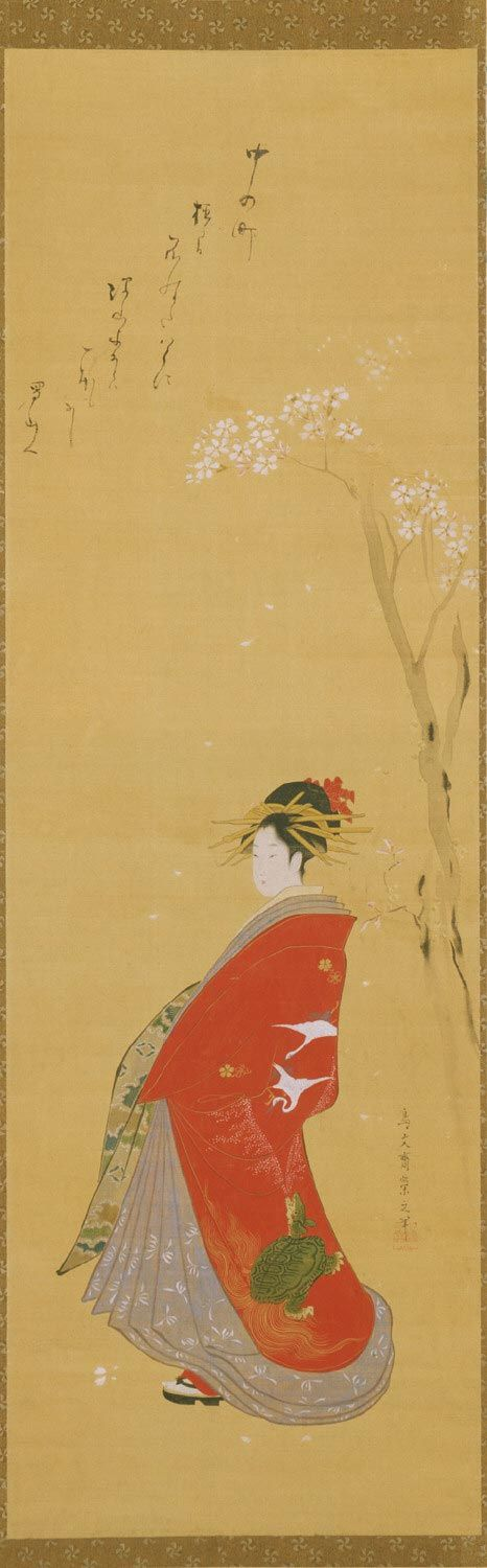 Portrait of a Courtesan Chōbunsai Eishi, Japanese, 1756 - 1829
