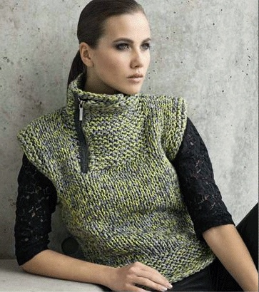 LanaGrossa | zippered neck