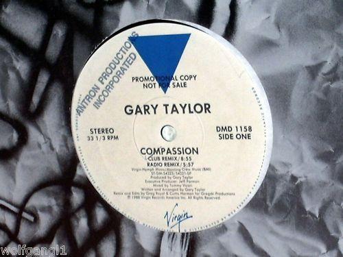 GARY TAYLOR - Compassion US MAXI PROMO