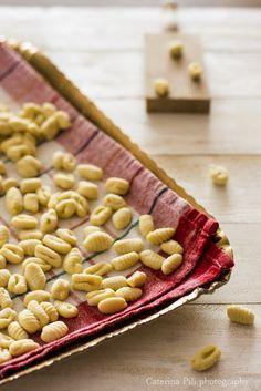 gnocchetti freschi con semola rimacinata di grano duro e senza uova