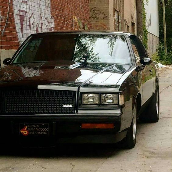 1000 images about buick grand national gnx on pinterest. Black Bedroom Furniture Sets. Home Design Ideas