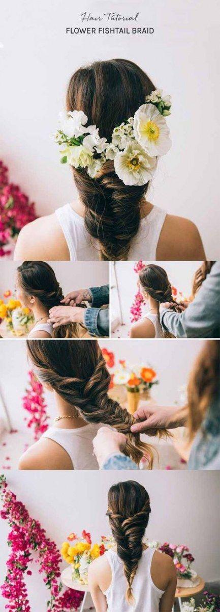 Super Hochzeit Frisuren halb hoch halb runter Vintage es funktioniert Ideen, #diyhairstyleseasyhalfup ...