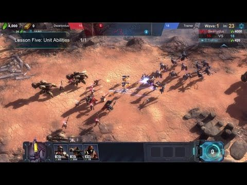 Art of War Red Tides TUTORIAL - Art of War Red Tides is a Strategy Multiplayer Game , featuring intense fighting with 300+ ground & aerial units and ultra-high fidelity graphic.