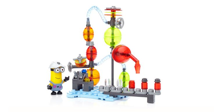 How can something look so good but taste so bad in Jelly Lab by Mega Bloks Despicable Me™
