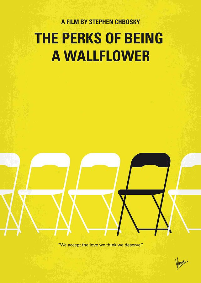The Perks of Being a Wallflower (2012) ~ Minimal Movie Poster by Chungkong #amusementphile