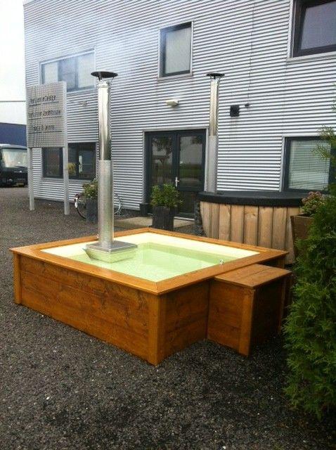 Speurders.nl: Lounge Bath, Aluminium hot tub vierkant hottub