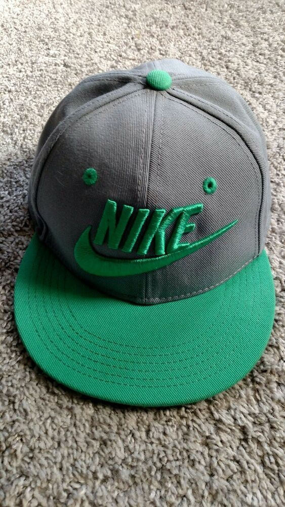 d718acee8cf Authentic Nike Snapback Hat Cap Green Gray Nike True YOUTH SIZED.  fashion   clothing  shoes  accessories  kidsclothingshoesaccs  boysaccessories (ebay  link)