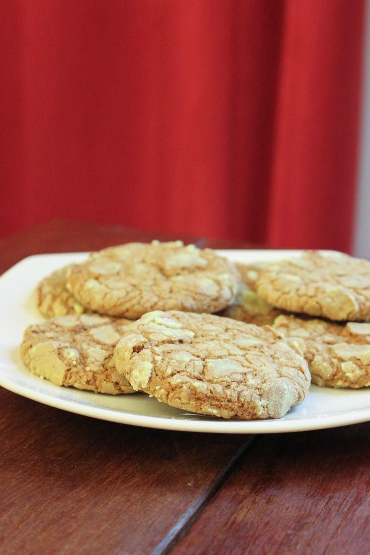 { Recette } Cookies moelleux à la pistache