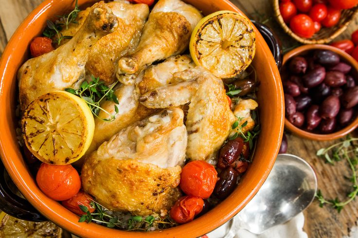 A chicken dish that is full of flavor! Roast Chicken with caramelized lemons! Don't miss Home & Family weekdays at 10a/9c on Hallmark Channel!