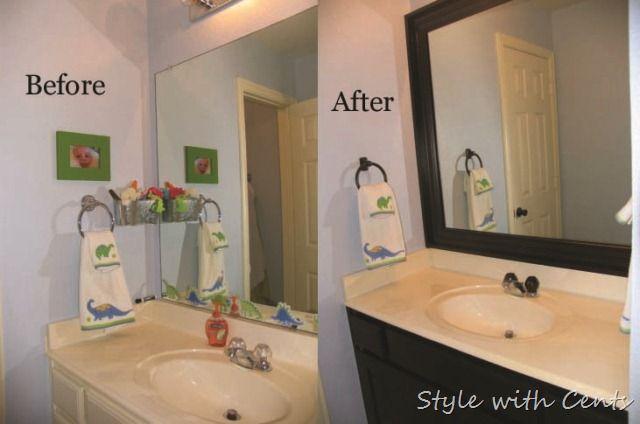 Rustoleum Oil Rubbed Bronze Spray Painted Hardware Bathroom Shower - Simple bathroom updates