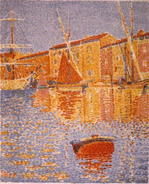 Van Gogh Museum - Harbour of Saint-Tropez