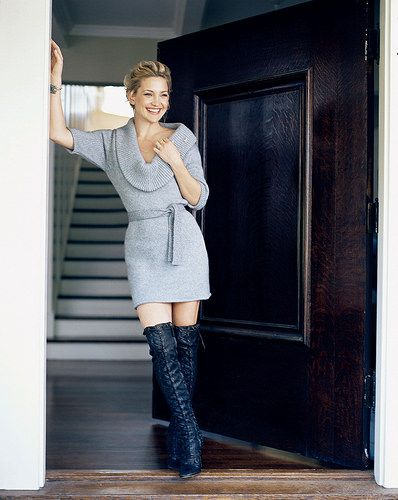 Kate Hudson 1 | en.wikipedia.org/wiki/Kate_Hudson | Celebrities in High Boots | Flickr