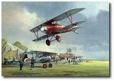 AVIATION ART HANGAR - Age of Chivalry by Michael Turner (Albatros D III)
