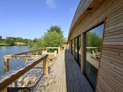 Decking over the Lake