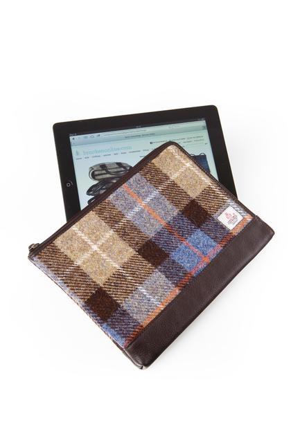 Harris Tweed Tablet Cover - Tommy