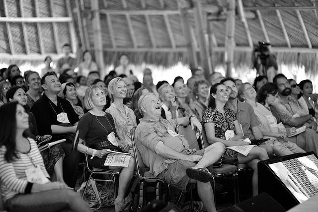 amazing and amazed audience TEDxUbud 2012 by TEDxUbud, via Flickr
