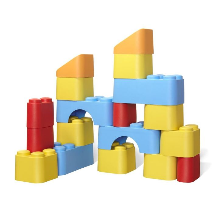 Green Toys Block Set   Green Toys™ Blocks Are The Worldu0027s Most  Environmentally Friendly Basic Building Set. All 18 Boldly Colored Blocks  Are Oversized And ...