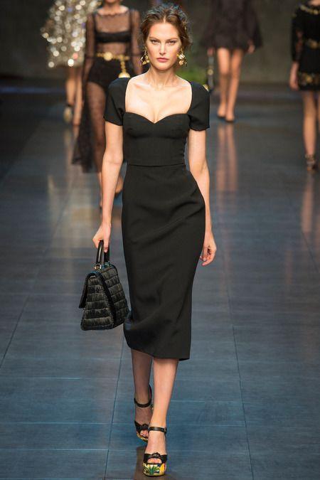 Black dress spring 2014
