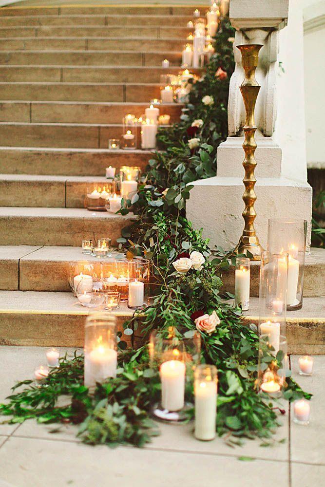 Budget Friendly Wedding Trend: Greenery Wedding Decor ❤ See more: http://www.weddingforward.com/greenery-wedding-decor/ #wedding #decor