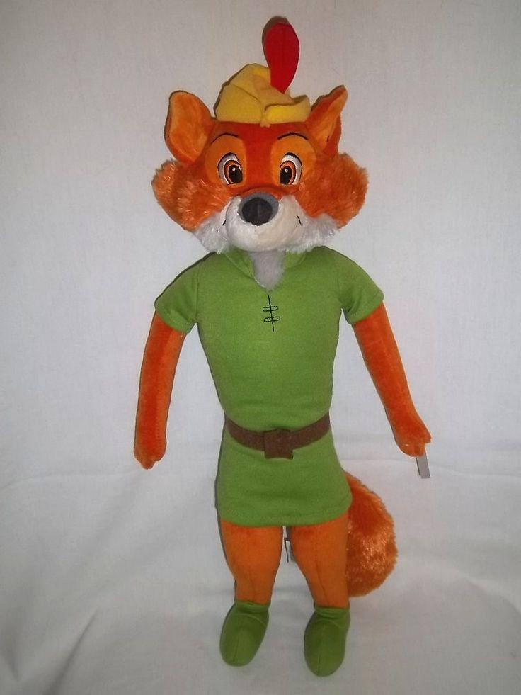 Giant Stuffed Animals Disney Store 17 Plush Robin Hood