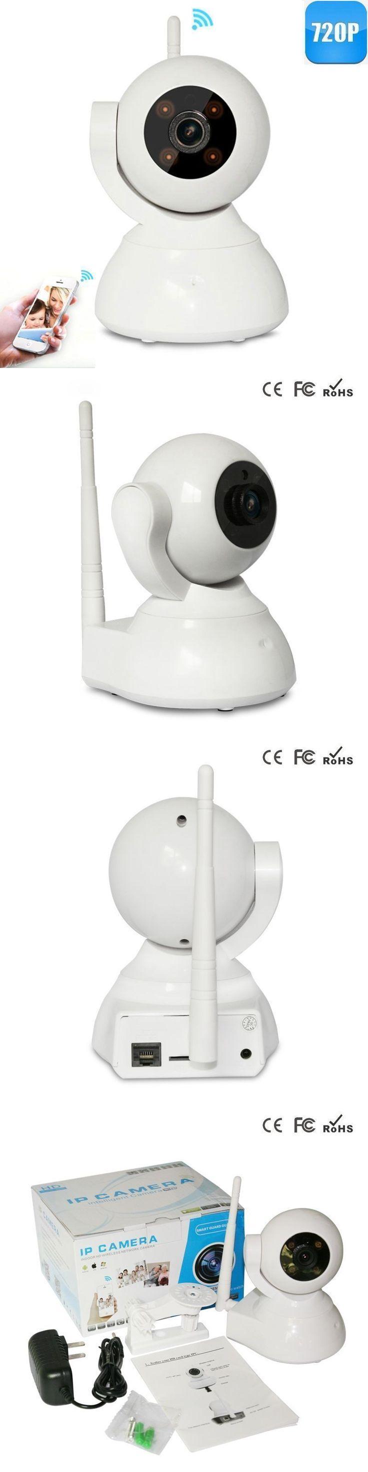Woshijia 2016 New 720P Mini WIFI IP Camera Wireless Alarm Home Security CCTV Camera Surveillance with Night Vision