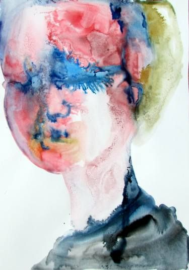 "Saatchi Art Artist Yoni ArT; Painting, ""Sadness, let me in"" #art"