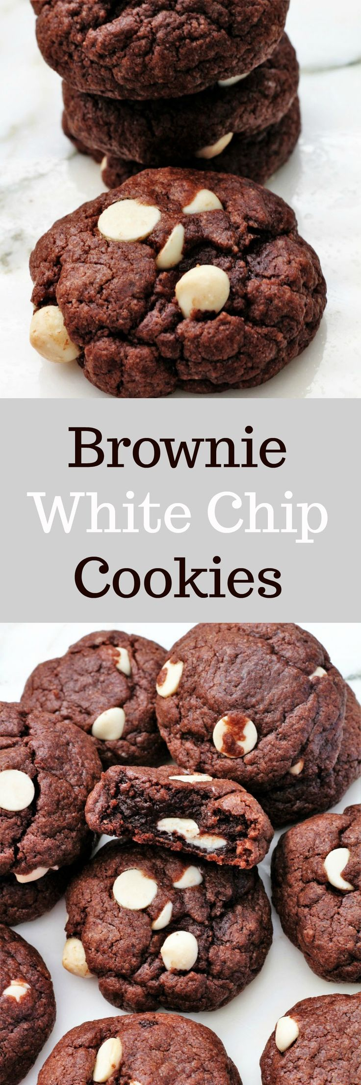 Brownie White Chip Cookies, Recipe Treasures