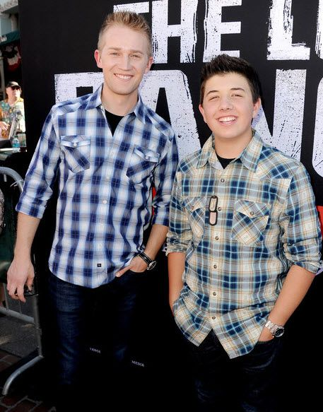 """Bradley Steven Perry And Jason Dolley Attended Disney's """"The Lone Ranger"""" Premiere"""