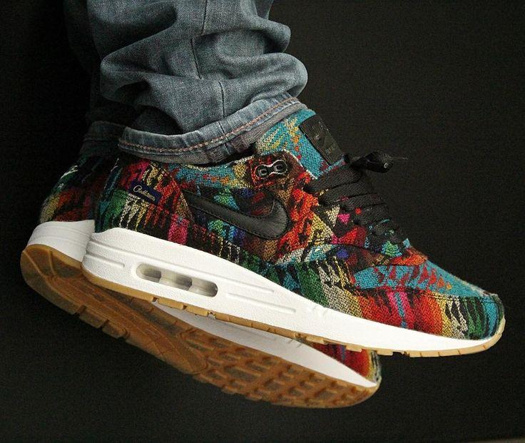 Nike ID Air Max 1 Pendleton (by pedram50) – Sweetsoles – Sneakers, kicks