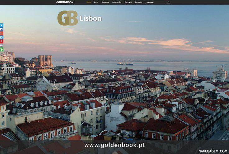 Criação e desenvolvimento  http://www.goldenbook.pt #guide #destinations #webdesign #navegabem #responsive
