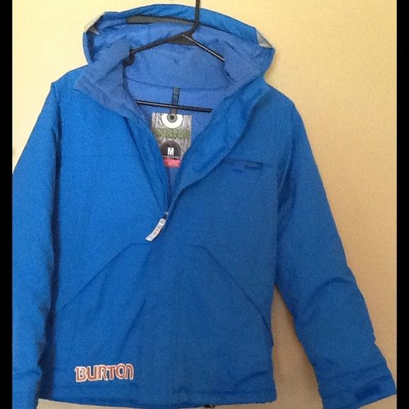 Youth BURTON Ski Jacket Dry Ride Youth Ski Jacket Size M (10/12) Blue EXCELLENT Condition, like new BURTON Jackets & Coats