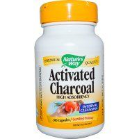Nature's Way, Activated Charcoal, 100 Capsules - iHerb.com
