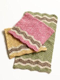Free Crochet Patterns : Dishcloth Patterns