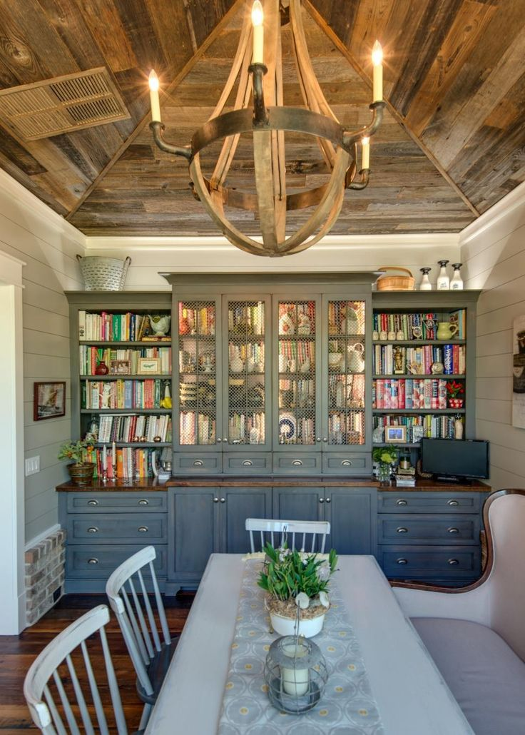 Country Kitchen With Vaulted Ceiling