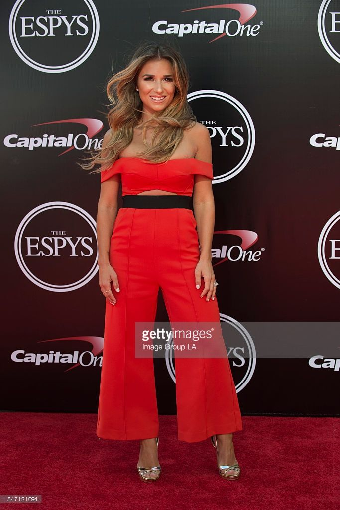 ESPYS - Arrivals - On July 13, some of the worlds premier athletes and biggest stars join host John Cena on stage for The 2016 ESPYS Presented by Capital One. The 24th annual celebration of the best moments from the year in sports will be televised live from the Microsoft Theater on Wednesday, July 13 (8:00-11:00 p.m. EDT), on ABC. JESSIE