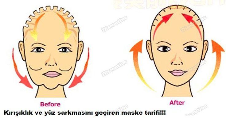 Kırışıklık ve yüz sarkmasını geçiren maske tarifi
