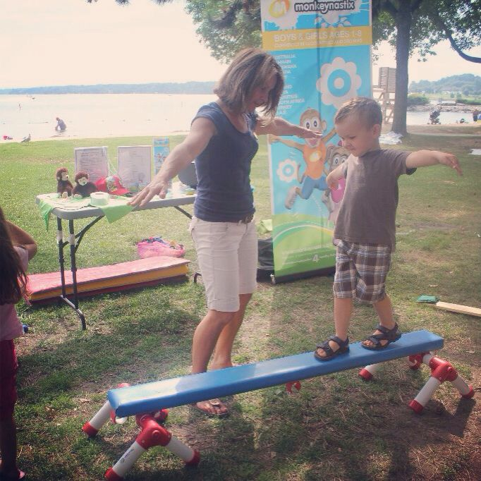 Monkeynastix Barrie demo in Centennial Park