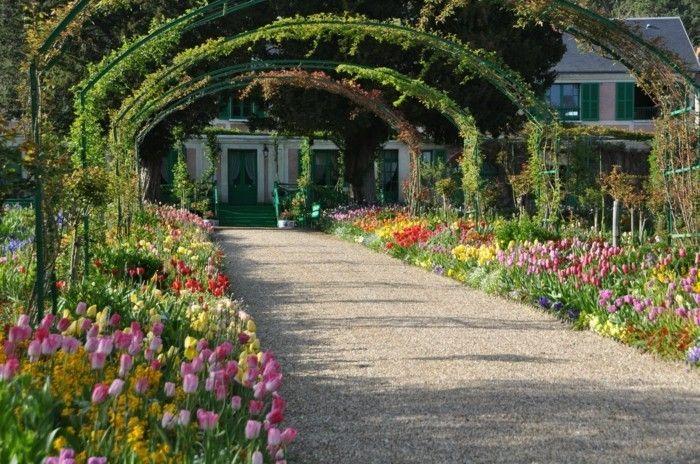 1001 Conseils Et Modeles Pour Creer Une Parterre De Fleurs Parterre De Fleurs Amenagement Jardin Comment Amenager Son Jardin